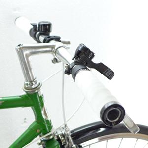 clubman green 0521 griffe 300px - Puch Clubman custom bike