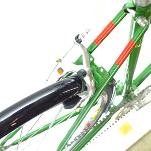 clubman green 0525 heck 300px - Puch Clubman custom bike