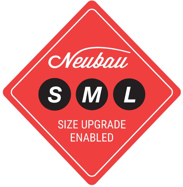 RB Neubau SML Sticker Lay1 select - Neubau 1070, niedriger Einstieg, Orange