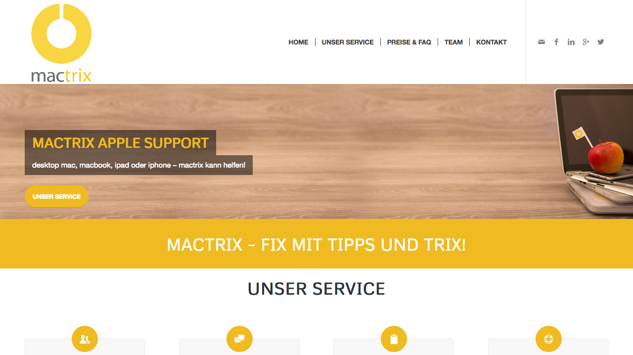 Screenshot 2018 4 9 HOME mactrix - Partner und Kooperationen