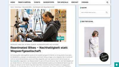 Screenshot 2018 5 15 Reanimated Bikes – Nachhaltigkeit statt Wegwerfgesellschaft - Wer nicht weiß wer wir sind...