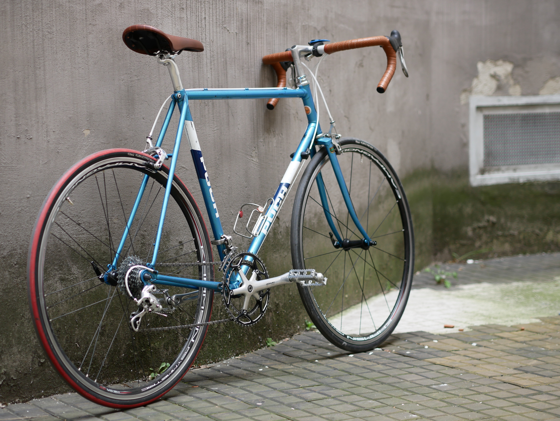 Puch Clubman Rennrad Blau